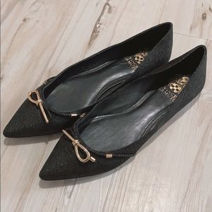 Vince Camuto Pointed Leather Flats